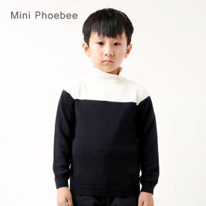 Knitted Winter Crochet Sweater Kids Clothes for Boys pictures & photos