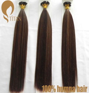 Hot Sale Indian Remy Stright Human Hair Extension pictures & photos