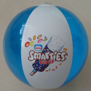 Promotional PVC Inflatable Beach Ball with Customer Logo Printing pictures & photos