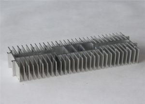 Aluminum Alloy Sand Blasting Anodized Extruded Aluminum Heat Sink