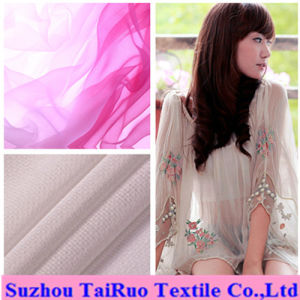 100% Polyester 50d Chiffon for Lady See Through Cloth pictures & photos