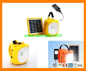 Portable Solar Energy LED Lamp with MP3 Radio Function pictures & photos