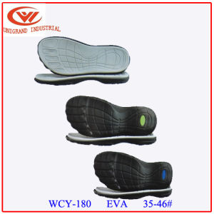 Non Slip Kid Proof MD+Rb Material Series Sandals Sole for Making Slipper pictures & photos