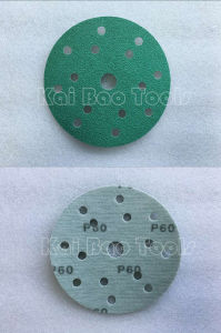 Film Backing Green Sand Paper pictures & photos