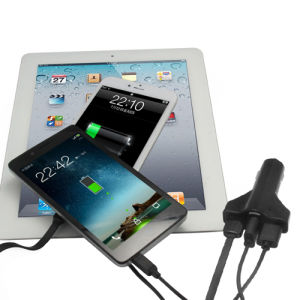 Hot Sale USB Car Charger with Ce and RoHS Certificates pictures & photos