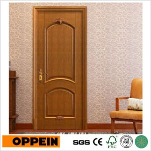 Simple Design High Quality Solid Wooden Hotel Interior Door (MSSD09) pictures & photos