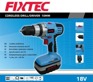Fixtec Power Tool Hand Tool 18V Cordless Drill pictures & photos