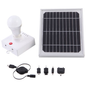 with Mobile Phone Charger Rechargeable Solar Light pictures & photos