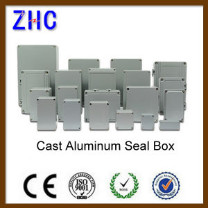 340*235*120 Large Size Electrical IP66 Waterproof Die Cast Aluminium DIN-Rail Enclosure pictures & photos