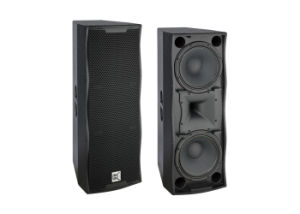 Double 12 Inch Loudspeaker Box Big Power Speaker pictures & photos