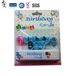 Decorative Fancy Birthday Cake Letter Candles for Girls and Boys pictures & photos