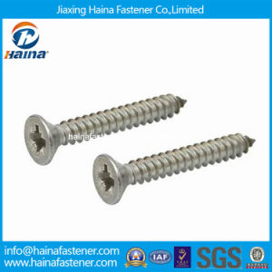 DIN7982 Stainless Steel Countersunk Head Self Tapping Screw pictures & photos
