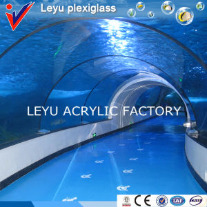 Acrylic Tunnel with Various Radian for Aquariums pictures & photos