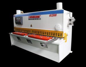 Nc Steel Hydraulic Shear Machine, Nc Heavy Duty Hydraulic Shearing Machine, Nc Guillotine Cutter Machine Hydraulic Shear pictures & photos