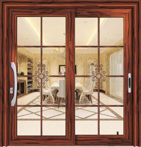 Energy Saving Thermal Break Aluminum Sliding Door pictures & photos