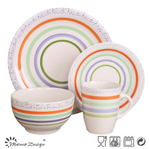 New Design Cheap Ceramic Dinner Set pictures & photos
