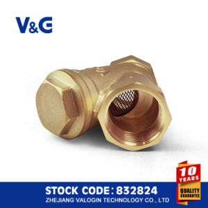 Forging Brass Y Type Strainer Filter (VG-C11061) pictures & photos