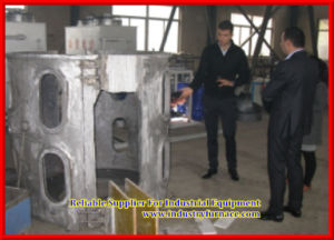 Small Induction Melting Furnace for Melting Copper, Gold, Silver or Bronze pictures & photos