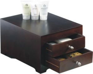 Mahogany MDF Wooden Amenities Box pictures & photos