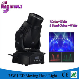 LED 75W Moving Head Beam Spot Stage Disco Lighting (HL-013BM) pictures & photos