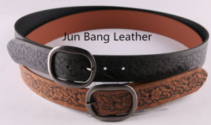 Fashion Embossed PU Belt in High Quality for Women pictures & photos