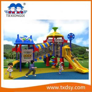Outdoor Kids Playground Equipment Factory China pictures & photos