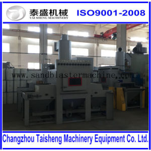 Automatic transmission sandblasting machine/