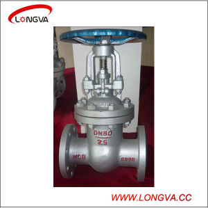 API Z41W CF8 Stainless Steel Flange Gate Valve pictures & photos