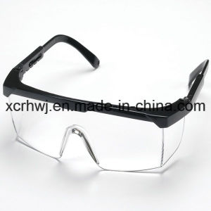 Clear Lens with Yellow Frame Safety Goggles, Protective Eyewear, Eye Glasses, Ce En166 Safety Glasses, PC Lens Safety Goggles