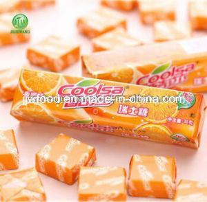 Orange Flavour Soft Candy Chewy Sweets 10PCS Candies pictures & photos