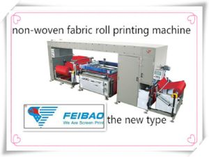 Automatic Roll to Roll Non-Woven Fabric Screen Printing Machine