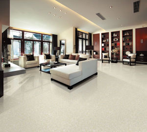 Hot Sale Design White Pulati Double Loading Polished Porcelain Tile pictures & photos