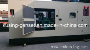 75kVA-687.5kVA Power Diesel Silent Soundproof Generator Set with Vovol Engine (VK33000)