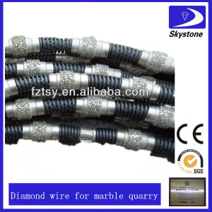 Diamond Wire Rope Saw for Marble Quarry pictures & photos