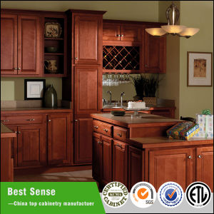 China american modern classic solid wood kitchen cabinet for Best american made kitchen cabinets