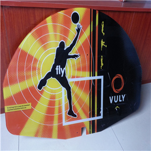 Polycarbonate Sport Products Printed Basketball Panels China Manufacturer pictures & photos
