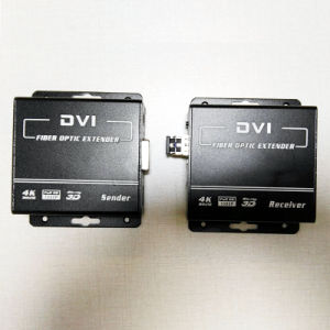 1080P DVI Extender Over Fiber with Keyboard and Mouse Extender Kvm         Supports DVI and HDMI V1.4 (DVI-2000) pictures & photos