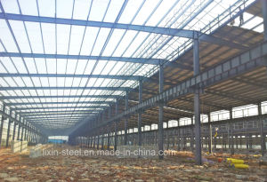 Light Steel Structure Building Frame Construction Cover with Steel Roof Sheet pictures & photos