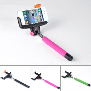 Mobile Wireless Bluetooth Self Stick Automobiles Monopod Stick Monopod Selfie Stick for I Phone 4 5, 5s 6, 6 Plus