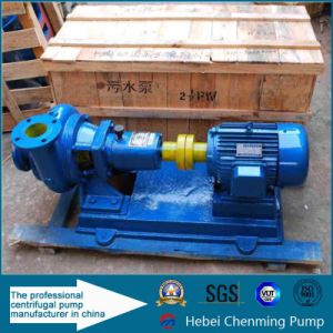 Cast Iron Horizontal Centrifugal Toilet Sewage Grinder Pump