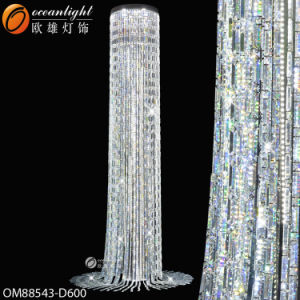 Project Light Not Expensive Large Crystal Chandeliers for Hotels Om88543 pictures & photos