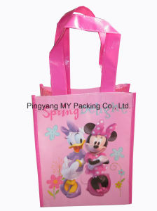 Easy Shopper Recycled PP Laminated Non Woven Promotion Bags pictures & photos