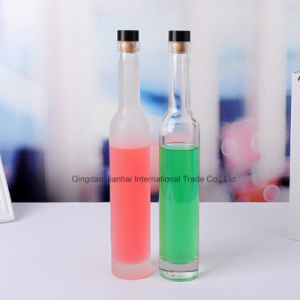 Eco-Friendly Frosted Empty Alcohol Glass Wine Bottle pictures & photos