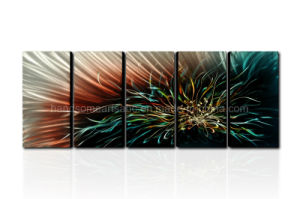 Huge Flower Lotus Abstract Modern Contemporary Metal Wall Art pictures & photos