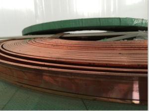 Copper Bonding Steel Core Tape Conductor, Grounding Tape, Grounding Conductor pictures & photos