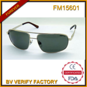 FM15601 Fashion Wholesale China Metal Sunglasses with Custom Brand pictures & photos