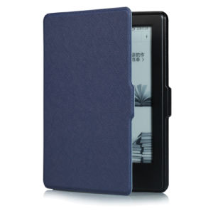 Ultra-Thin Leather Smart Case for New Kindle 2016 (558) pictures & photos