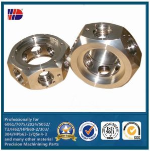 304 Stainless Steel CNC Turning Parts (WKC-04) pictures & photos