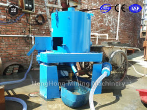 Mining Machine Gold Recovery Centrifugal Concentrator with Alluvial Gold River Sluice pictures & photos
