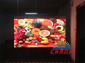 Indoor P1.92 LED Display Sign with Die-Casting Aluminum Cabinet pictures & photos